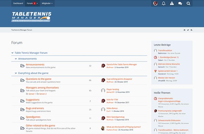 ttm forum
