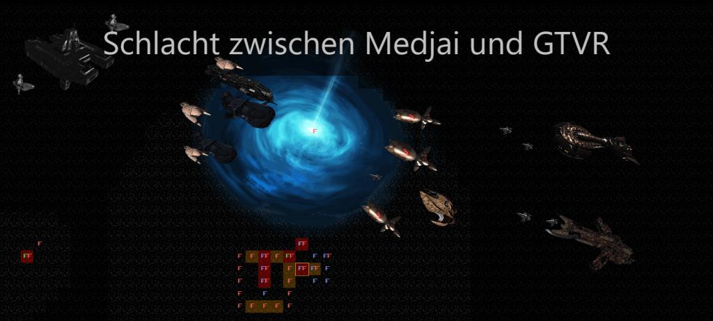 Schlacht zwischen Medjai und GTVR